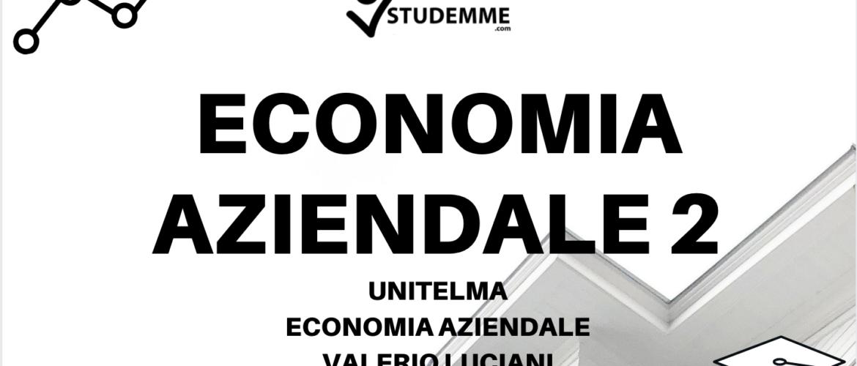 economia aziendale 2 unitelma